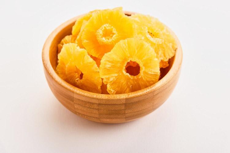 آناناس خشک ارگانیک